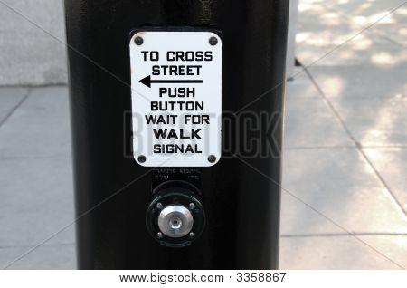 Cross Walk Button