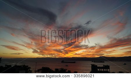 Red Purple Orange Blue Pink Sunset Sky Cloud Red Purple Cloudscape Time Lapse Background Dark Red Pu
