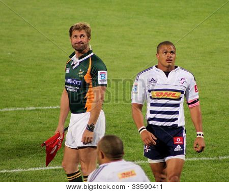 Mark Lawrence Referee South Africa 2012