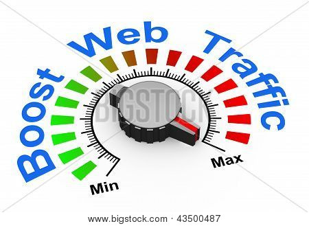 3D Knob - Boost Web Traffic