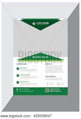 Professional Creative Modern Business Flyer Design Template