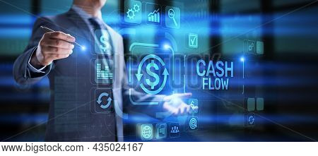 Cash Flow Income Earning Investment Business Finance Concept
