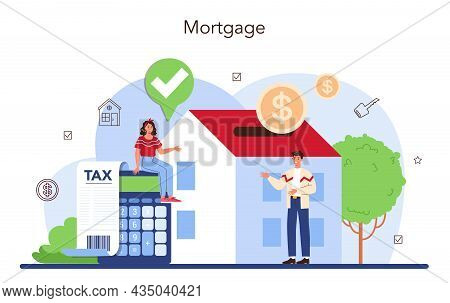 Real Estate Industry Or Realtor Concept. Realtor Assistance And Help
