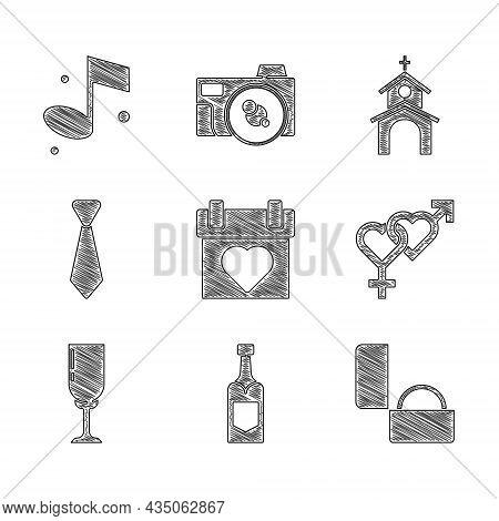 Set Calendar, Champagne Bottle, Diamond Engagement Ring, Gender, Glass Of Champagne, Tie, Church Bui