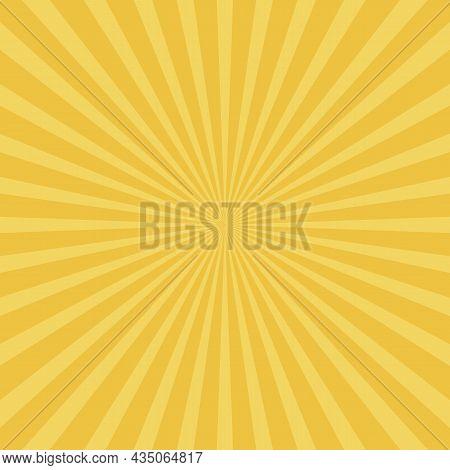 Abstract Sun Rays Background. Vector Illustration Eps10
