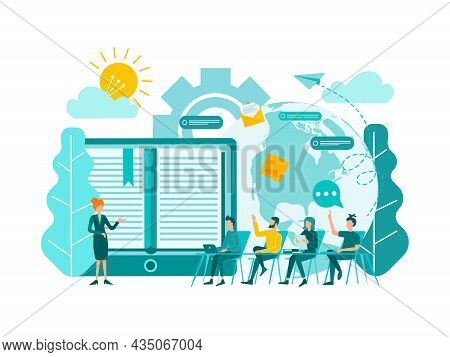 E-books, Courses And Trainings On The Internet