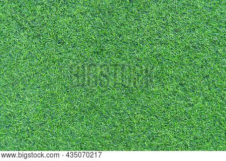 Top View Artificial Grass Mat Background Texture