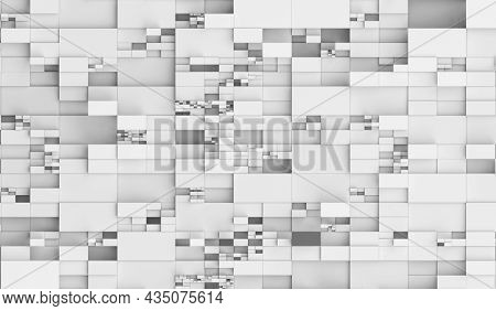 Abstract geometric technology background. 3d rendering