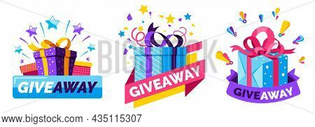 Giveaway Present, Gift For Free To Subscribers