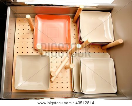 Drawer For Dishes