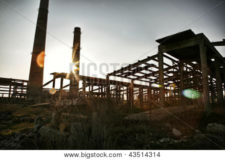 Abandoned Construction Site