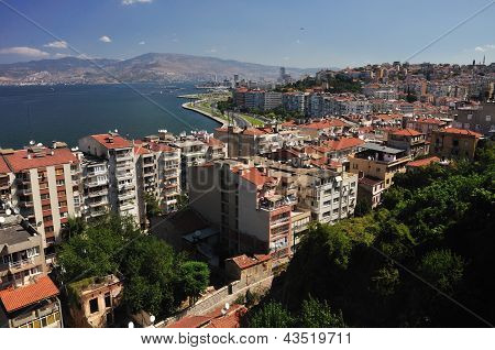 General View On Izmir, Turkey