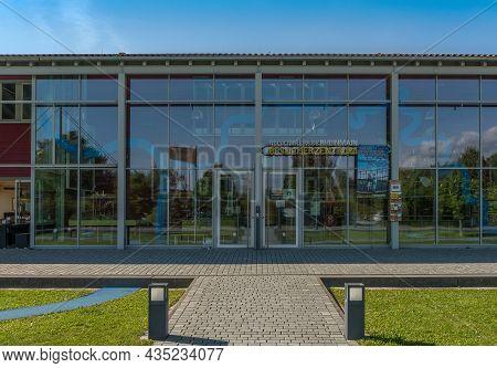 Visitor Center Of The Regional Park Rhein Main Portal Weilbacher Gravel Pits