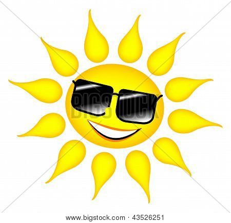 Sun With Glasses