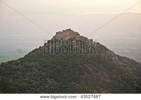 Nimrod Fortress . Israel