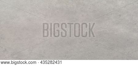 Abstract Grunge And Scratched Technique Grey Color Concrete Wall, Cement Smooth Surface Material Tex