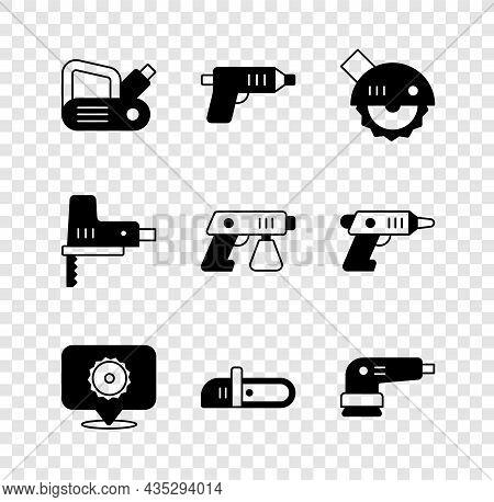 Set Electric Planer Tool, Cordless Screwdriver, Circular Saw, Circular Blade, Chainsaw, Sander, Jigs