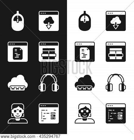 Set Mysql Code, Software, Computer Mouse, Cloud Technology Data Transfer, Web Development, Headphone