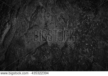 Shabby, Gloomy Cliffs And Numerous Rock Cracks Form The Surface Of Large Rocks That Can Be Used As A