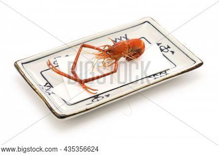 fried freshwater prawn without breading