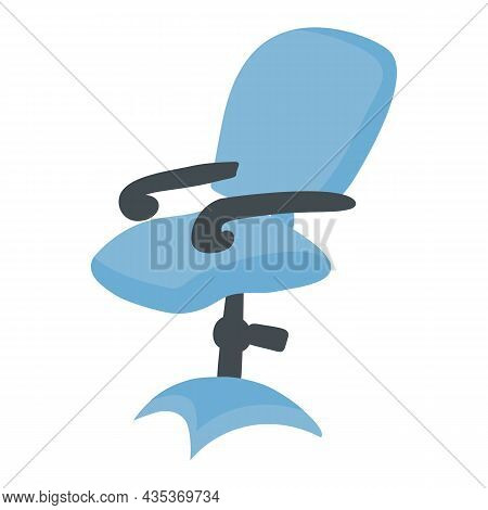 The Blue Office Chair Is Suitable For Work Chairs In The Office Or At Home.