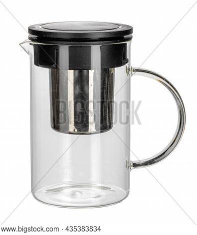 Empty Tea Kettle Isolate On White Background