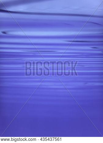 Underwater View Of The Water Surface. Underwater Background