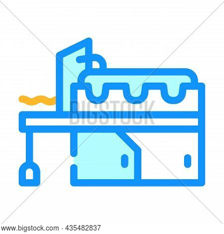 Metal Production Industry Equipment Color Icon Vector. Metal Production Industry Equipment Sign. Iso