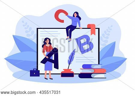 Teacher And Student Learning Online. Happy College Graduate Receiving Diploma Studying Distant With
