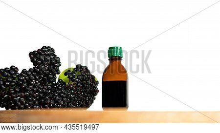 Healing Black Berry Homeopathy, Elderberry. Berry Black