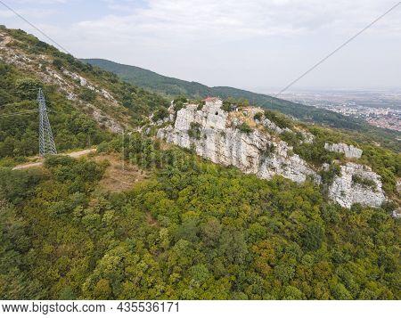 Aerial View Of Saint Demetrius Of Thessaloniki Church Near Asenovgrad, Plovdiv Region, Bulgaria