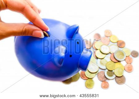 Coins And Moneybox