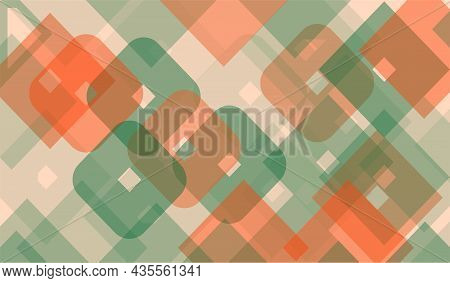 Retro Square Diamond Shape Geometric Background. Clean Design Vector Illustration