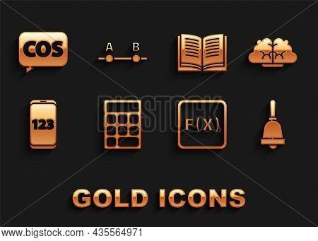 Set Calculator, Human Brain, Ringing Bell, Function Mathematical Symbol, Mobile Calculator Interface