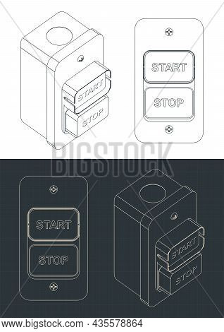 Power Tool Start Stop Switch