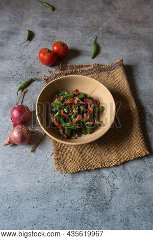 Healthy Homemade Veggies Salad, Diet, Vegetarian, Vegan Food, Vitamin Snack