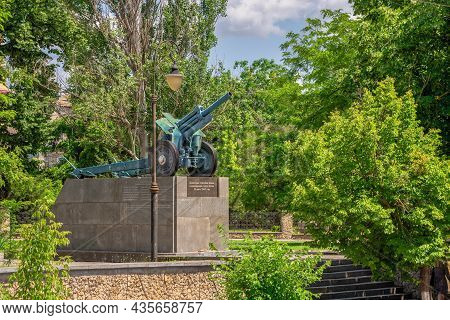 Monument To Soldiers-liberators In Kherson, Ukraine