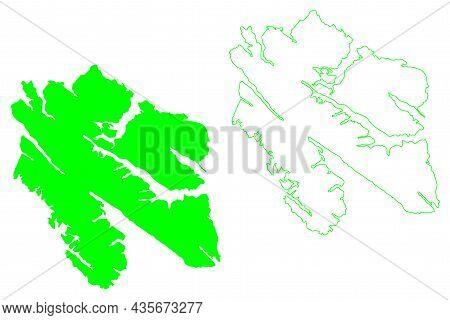 Chichagof Island (united States Of America, North America, Alaska, Us, Usa, Alexander Archipelago) M