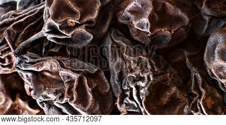 Dried Pears, Close-up, Selective Focus. Ingredients For The Local Swiss Dish Birnbrot (literally Pea