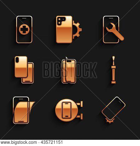 Set Glass Screen Protector, Phone Repair Service, Shockproof Phone, Screwdriver, Smartphone, Mobile