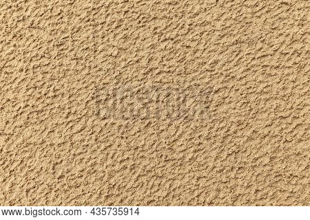 Sand Texture. Sandy Beach For Background. Top View. Natural Sand Stone Texture Background. Sand On T