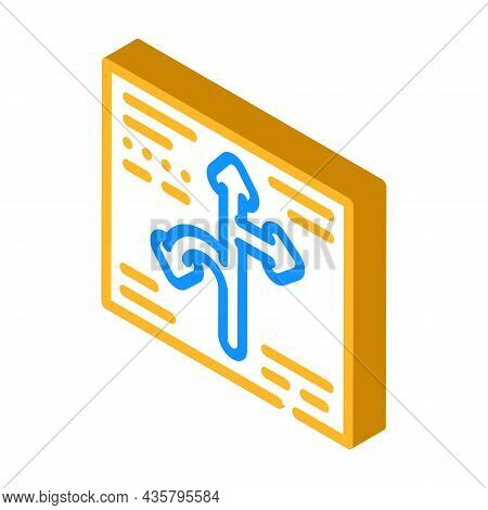 Direction Globalization Isometric Icon Vector. Direction Globalization Sign. Isolated Symbol Illustr