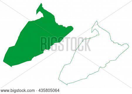 Sao Gabriel Municipality (bahia State, Municipalities Of Brazil, Federative Republic Of Brazil) Map