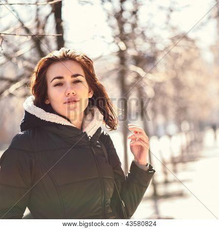 Young Girl Outdoor Portrait