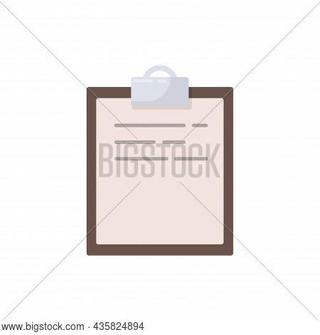 Medicine Blank Isolated Illustration. Medicine Blank Flat Icon On White Background. Medicine Blank C