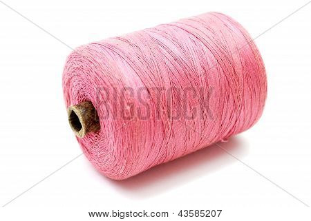 Pink Thread Spool
