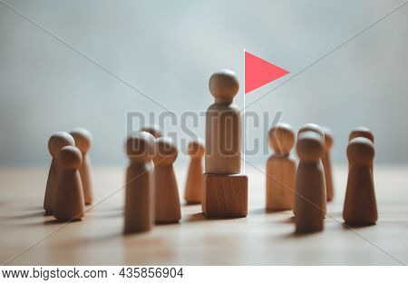 Leadership, Human Resource, Talent Management, Recruitment Employee, Successful Business Team Leader