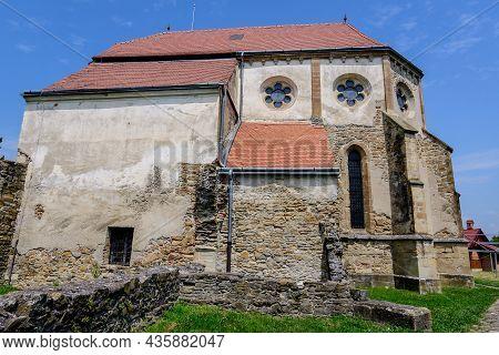 The Ruins Of The Carta Cistercian(benedictine) Monastery (manastirea Cisterciana Carta) In Sibiu Co