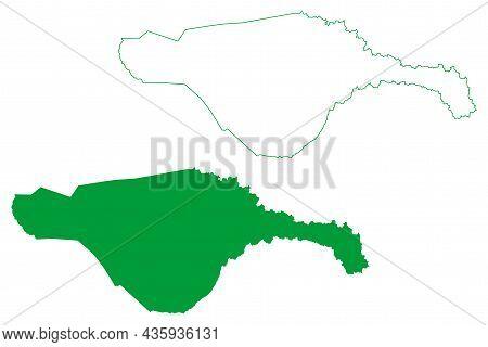 Ruy Barbosa Municipality (bahia State, Municipalities Of Brazil, Federative Republic Of Brazil) Map