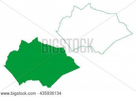 Tapiramuta Municipality (bahia State, Municipalities Of Brazil, Federative Republic Of Brazil) Map V